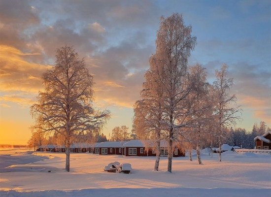 Winter in Kukkolaforsen
