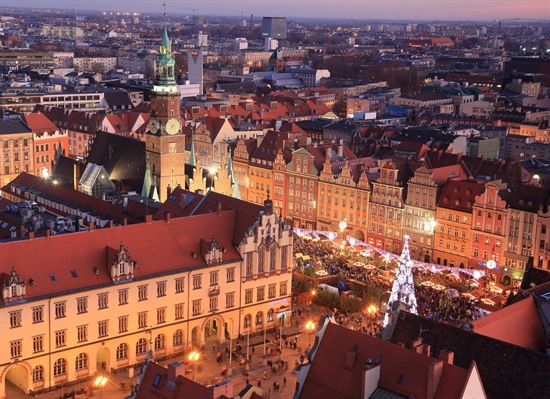 Winter Short Break in Wroclaw