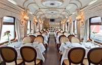 Golden Eagle - restaurant car