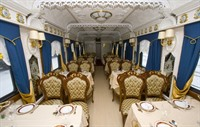 Imperial Russia Train Restaurant