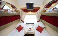 Imperial Russia First Class compartment