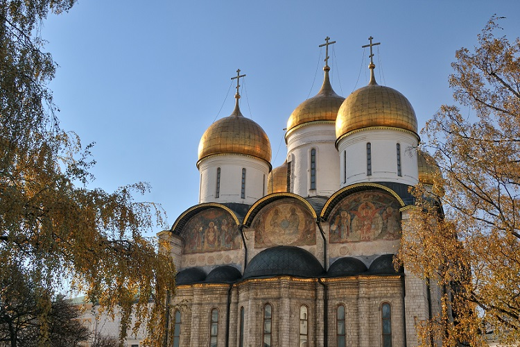 Dormition Cathedral. Moscow Kremlin